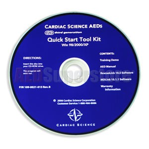 Cardiac Science Powerheart® AED G3 PRO Quick Start CD Toolkit