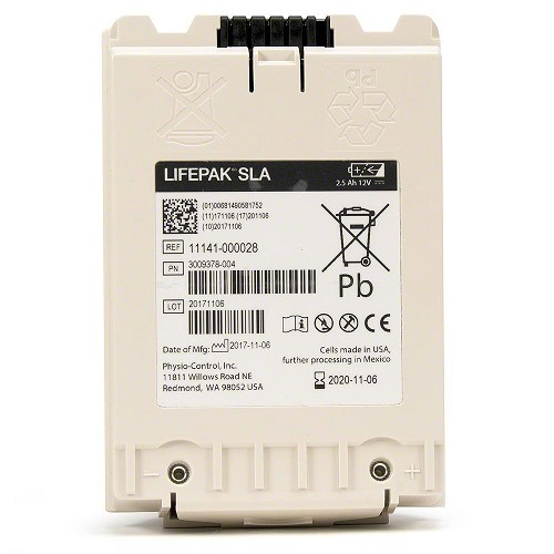 Physio-Control LIFEPAK® 12 Battery SLA (Sealed Lead Acid)