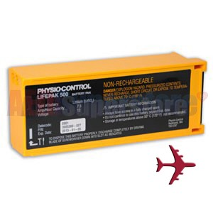 Physio-Control LIFEPAK® 500 Aviation Battery (TSO-C97)
