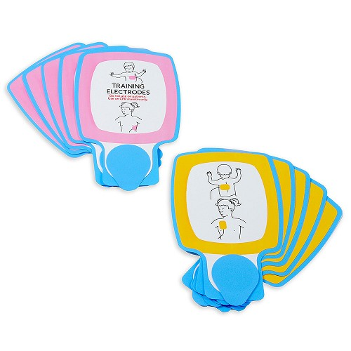 Physio-Control Pediatric TRAINING Electrode Pads (5 Pack Pad Portion)