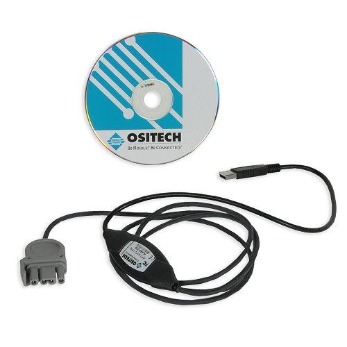 Physio-Control LIFEPAK 500® Data Transfer USB to QUIK-COMBO Cable