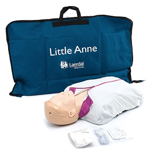 Laerdal Little Anne with Soft Pack/Training Mat