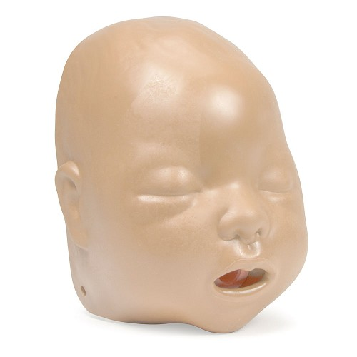 Laerdal Baby Anne Face Pieces 6-Pack - Light or Dark Skin Tone