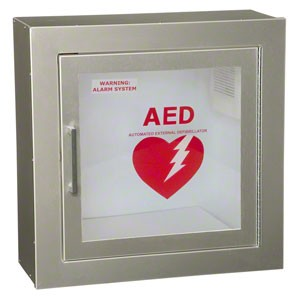 LifeStart™ Aluminum AED Cabinet by JL Industries