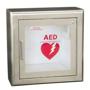 LifeStart™ Stainless Steel AED Cabinet by JL Industries