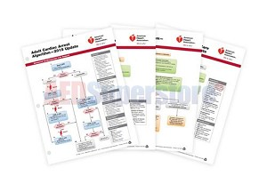 AHA 2015 ACLS Emergency Crash Cart Cards