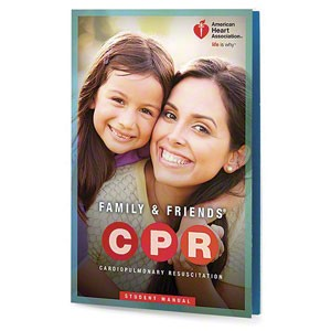 AHA 2015 Family & Friends® CPR Student Manual - Single