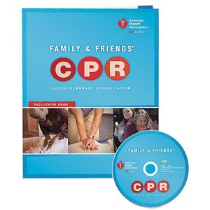 AHA 2015 Family & Friends® CPR DVD with Facilitator Guide