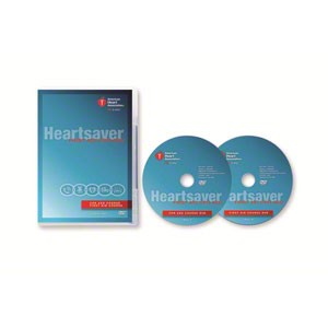 AHA 2015 Heartsaver First Aid CPR AED on DVD