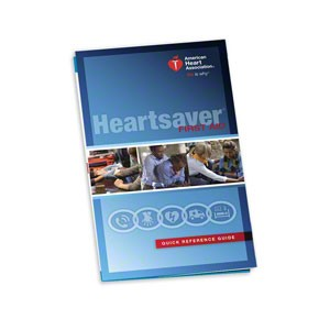 AHA 2015 Heartsaver First Aid Quick Reference Guide