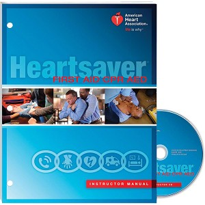AHA 2015 Heartsaver First Aid CPR AED Instructor Manual