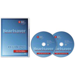 AHA 2015 Heartsaver Pediatric First Aid CPR AED on DVD