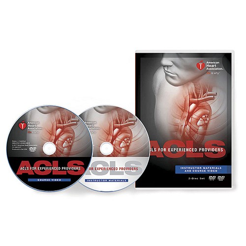 AHA 2015 ACLS for Experienced Providers (EP) DVD Set