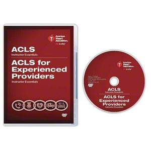 AHA 2015 ACLS/ACLS for Experienced Providers (EP) Instructor Essentials Course DVD