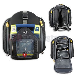 Cardiac Science Rescue Backpack for G3 AEDs