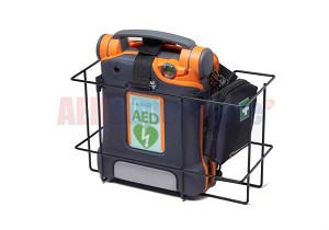 Cardiac Science Wall Wire Rack for AED in Carry Case
