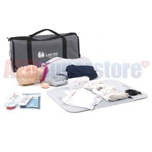 Laerdal Resusci Anne QCPR AED Torso w/Carry Bag