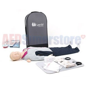 Laerdal Resusci Anne QCPR AED Full Body w/Hard Case
