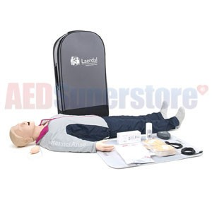 Laerdal Resusci Anne QCPR-D Full Body w/Airway Head w/Carry Bag