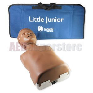 Laerdal Dark Skin Little Junior™ with Soft Pack/Training Mat
