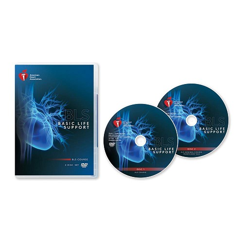 AHA 2020 Basic Life Support (BLS) DVD Set