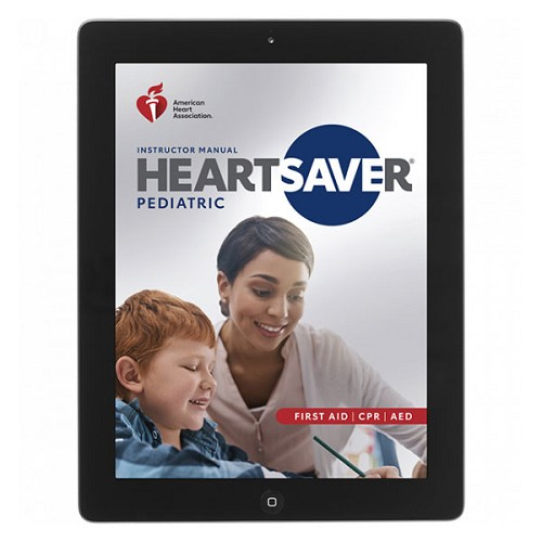 AHA 2020 Heartsaver Pediatric First Aid CPR AED Instructor Manual eBook