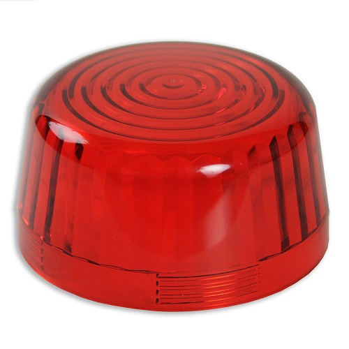 Red Strobe Light - Lens Only