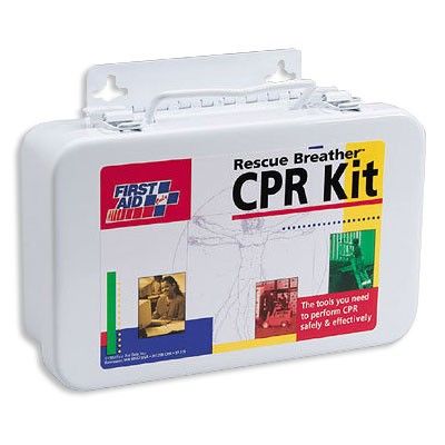 FAO 4 Person CPR Kit w/Metal Case