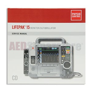 Physio-Control Service Manual on CD-ROM for LIFEPAK 15 Defibrillator/Monitor