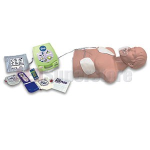 Simulaids AED Trainer Package w/Economy Sani-Manikin