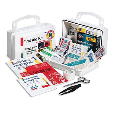 FAO 10 Person, 62 Piece Bulk Kit, Plastic Case w/Gasket