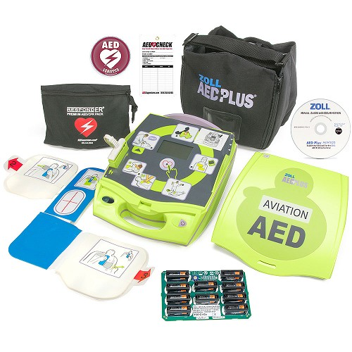 ZOLL<sup>®</sup> AED Plus<sup>®</sup> Aviation Package