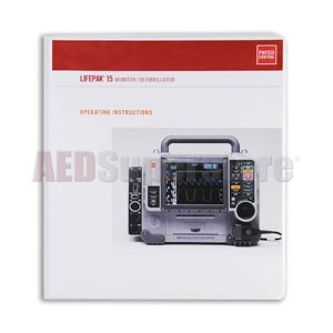 Physio-Control LIFEPAK® 15 Monitor/Defibrillator Operating Instructions