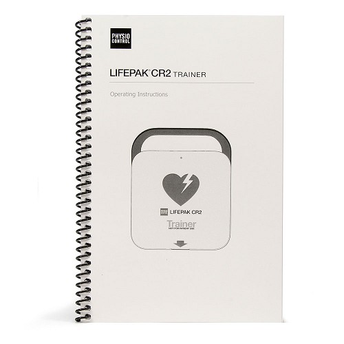 Physio-Control LIFEPAK® CR2 AED Trainer Operating Instructions