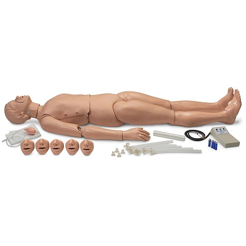 Simulaids Full-Body Adult CPR Manikin w/Electronics