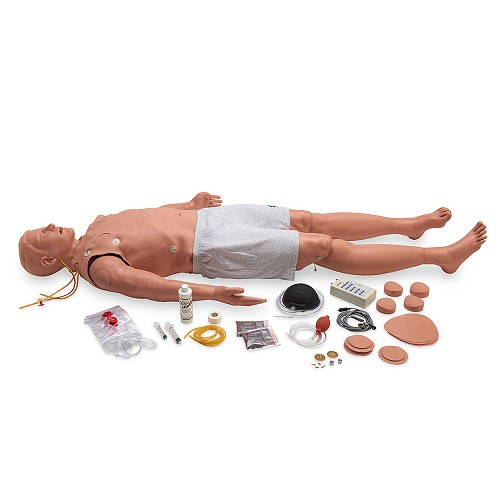 Simulaids Stat Adult ALS Manikin w/Deluxe Airway Management Head