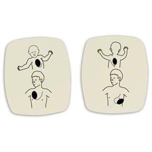 Red Cross Replacement Child Training Electrode Pads