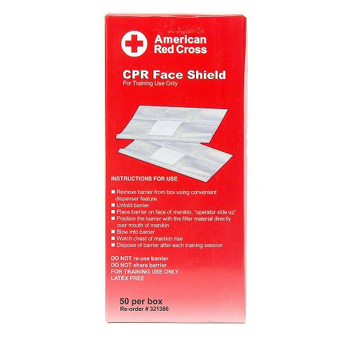 American Red Cross Practi-Shields - 50/box