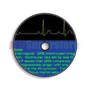 Learning Arrhythmia Recognition CD ROM by Cardionics