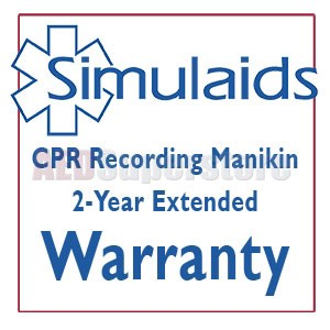 Simulaids CPR Recording Manikin 2-Year Extended Warranty