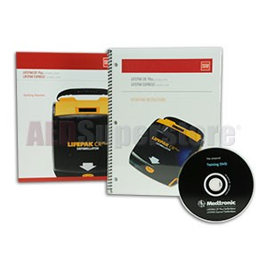 Physio-Control LIFEPAK CR® Plus/EXPRESS Training DVD & Owners Manual