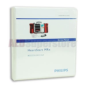 Manual Service for Philips HeartStart MRx Monitor/Defibrillators