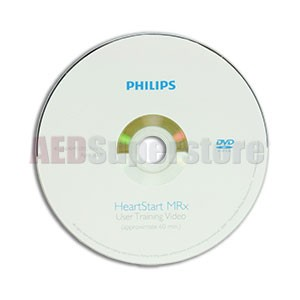 Training DVD (User) for Philips HeartStart MRx Monitor/Defibrillators