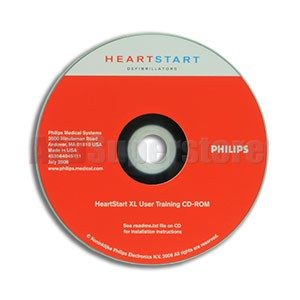 Training CD for Philips HeartStart XL Monitor/Defibrillators