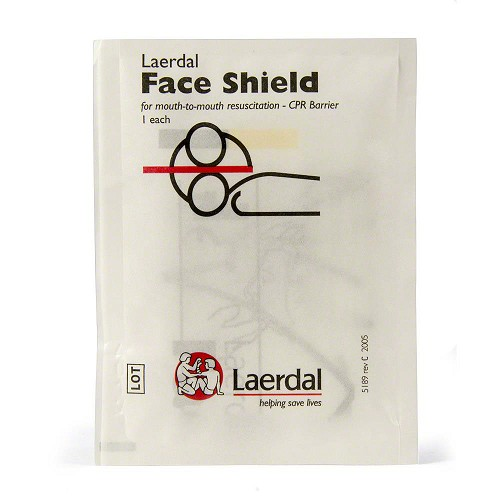 Laerdal Face Shield CPR Barrier Keyring Refill (50 pk)