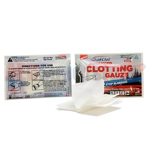 "QuikClot® Advanced Clotting gauze 3' x 24"" by Adventure Medical Kits"