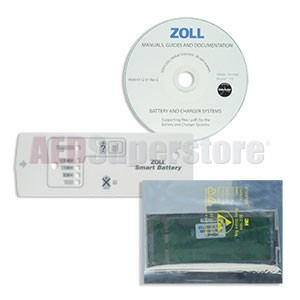 Upgrade Kit for ZOLL 'Smart Ready' Battery to 'Smart' Battery