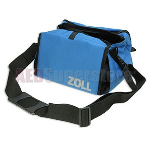 Primary Carry Case, Blue Canvas for ZOLL M Series Defibrillators