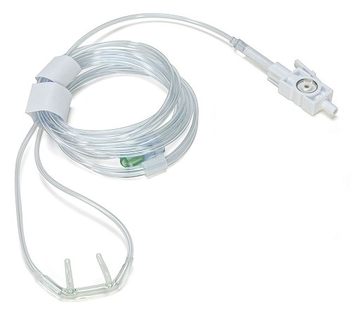 Nasal CO2 Sampling Cannula (package of 10) for ZOLL M Series & M Series CCT Defibrillators