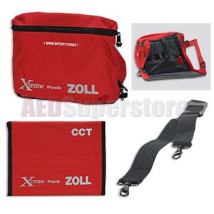 Xtreme Pack I Carry Case for ZOLL M Series CCT Defibrillators
